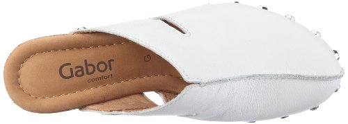700 tr Shoes Sabots femme c1 33 22 Comfort 50 Gabor Blanc wgxOqC