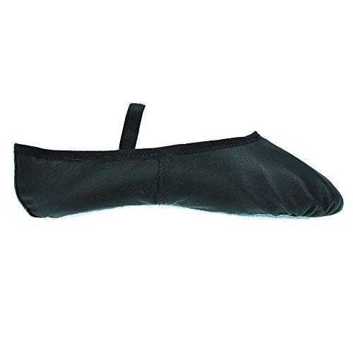 So Danca BAE90 Lederschläppchen mit ganzer Sohle - Schwarz - Größe 41