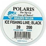 Woodstock Line 200yd Ice Fishing Line 20 Black Fishing Equipment