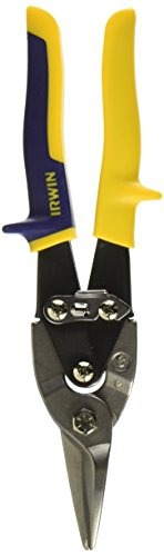 IRWIN Tools Aviation Snips, Straight (Steel Aviation Snips)