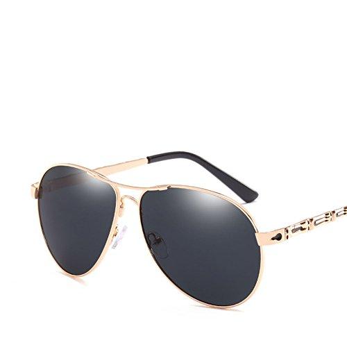 Metal Silver Gray Protección Gafas Marco Gafas De Conducción Tiro Callejero Los UV Sol Hombres De Retro Moda De De 1U4XT