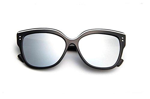 sol colorido mercury señoras gafas de gafas and sol de gafas gafas sol white de black tendencia GLSYJ Eye Wild Moda retro Bright LSHGYJ Cat's EWqUgU