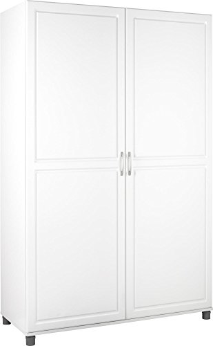 White 2 Door Wardrobe - 5
