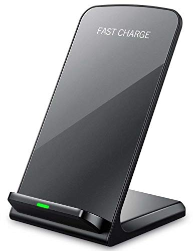 i-Sonite Black Qi Certified Desktop Super-Fast 10W Wireless Charging Charger Station Stand for Nokia Lumia 930
