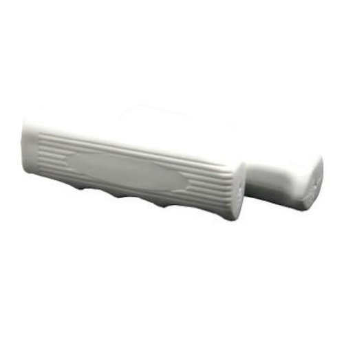 DUO Bicycle Parts Beach Cruiser Handle Bar Grip - White - Se