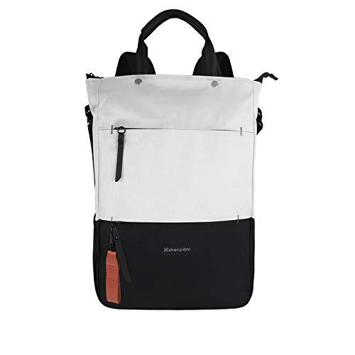 (Sherpani Women's RFID Camden Tote/Backpack/Crossbody Laptop, Birch, One Size)
