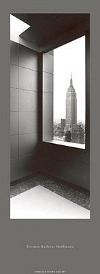 Empire State Building New York Black & White Photo Print Poster by Torsten Andreas Hoffmann (13.25