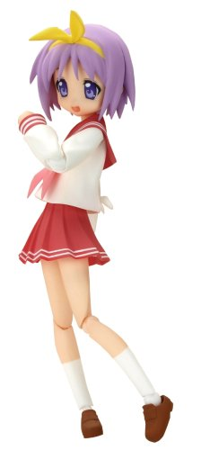 Lucky Star: Tsukasa Hiiragi Winter School Uniform Non-Scale Figma Action Figure (japan import)