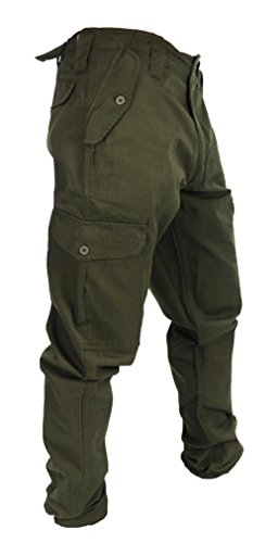 Wwk Workwear King Mens Army Combat Cargo Work Trousers Amazon Co