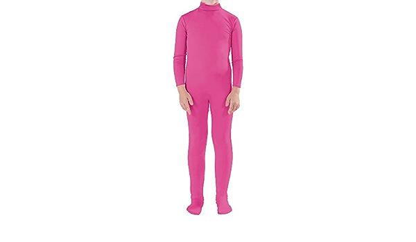 Muka Adult /& Kid Zentai Unitard Bodysuit Halloween Costume Catsuit Dancewear
