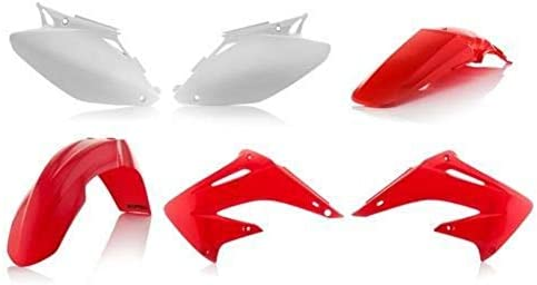 f8257166 Amazon.com: Acerbis Replacement Plastic Kit Honda CR125 CR250 2004-2007:  Automotive