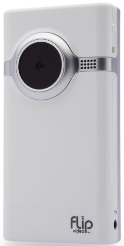 Flip Mino Video Camera - White, 2 GB, 1 Hour (1st Generation)