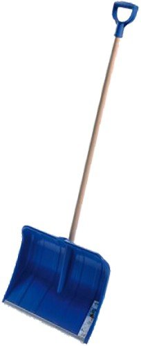 Prosper Plast Alpin 1 A Shovel, 41 x 33 x 132 cm, Blue, 41x33x132 cm (Wolf Snow Shovel Snow)