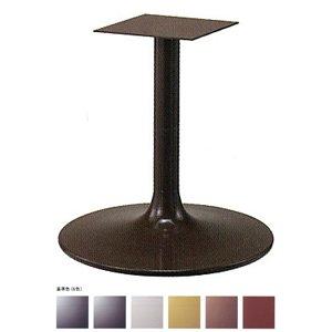 e-kanamono テーブル脚 MW7600 ベース600φ パイプ60.5φ 受座240x240 基準色塗装 高さ700mmまで ゴールドメタリック B012CF2I8W ゴールドメタリック ゴールドメタリック