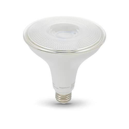 Dimmable Cfl Par38 - AmazonBasics 90W Equivalent, Daylight, Dimmable, 10,000 Hour Lifetime, PAR38 LED Light Bulb   6-Pack