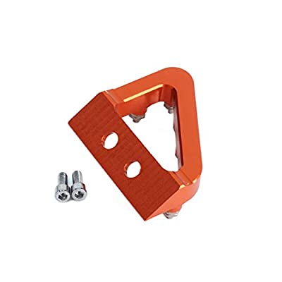 AnXin CNC Rear Brake Pedal Step Plate Tip For KTM SXF SX EXCF XCF XCW EXC 125 150 200 250 350 450 500 2020 2020 17 18 Motorcycle - Orange: Automotive