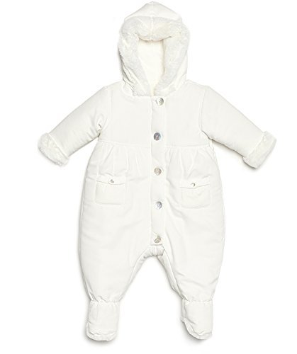 White Baby Pram Suit - 7
