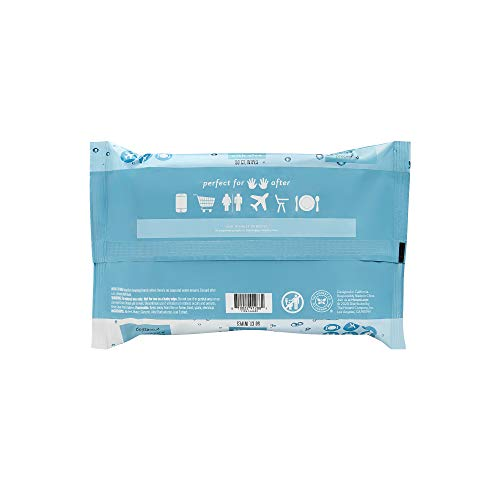 The Honest Company Sanitizing Alcohol Wipes, Unscented, 150 Count