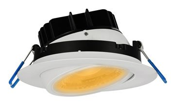 Lotus Gimbal Recessed Downlight LL4G 30K WH