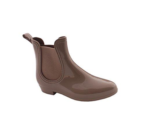 Sonia Originelli Nordseeboots Regenstiefel Schuhe Stiefeletten Taupe