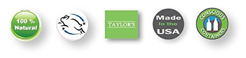 TAYLOR'S TOOTH Powder Natural with Xylitol & Activated Charcoal * MINT * Herbal Organic Vegan Paleo Plastic FREE Stored in GLASS - Made in USA! {2 ounce} by Taylors (Image #2)