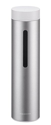 水素水生成器 cadoカドー(AQUANODE)アクアノード(水素水ボトル)色シルバー