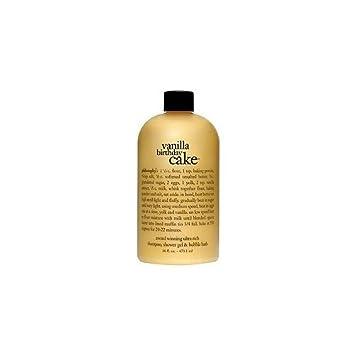 Amazon.com : Philosophy Vanilla Birthday Cake Shampoo, Shower Gel ...