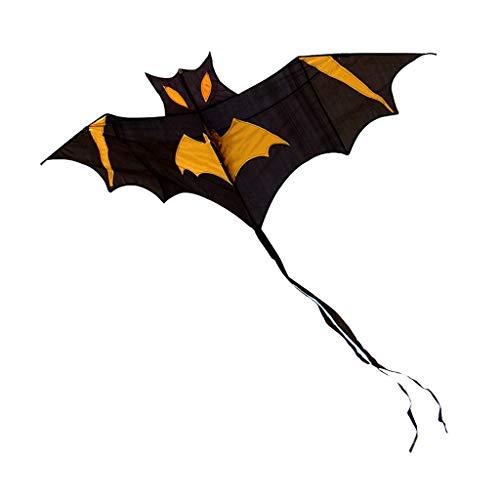 (TD Kite B1245 Bat Black Bat Cartoon Beginner Good Fly Child Yi Fei Adult (Size : 400 Meter line))