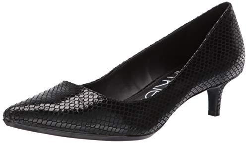 - Calvin Klein Women's GABRIANNA Pump, Black Snake, 6.5 M US