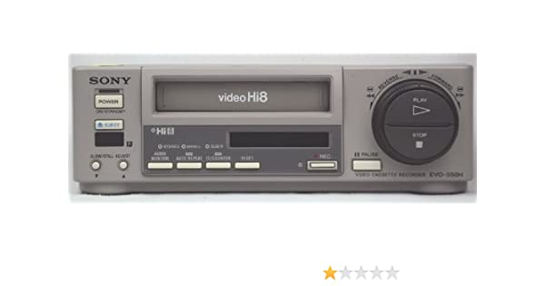 Amazon com: Sony EVO-550H Professional Hi8 Player / Recorder