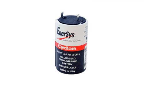 Enersys  Hawker  Cyclon 0800 0004 X Cell 2 Volt 5 Amp Hour Sealed Lead Acid Battery