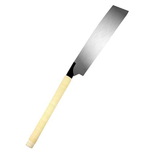 Kataba Saw - SUIZAN Japanese Hand Saw 10-1/2 inch Kataba (Single Edge) Pull Saw for Woodworking