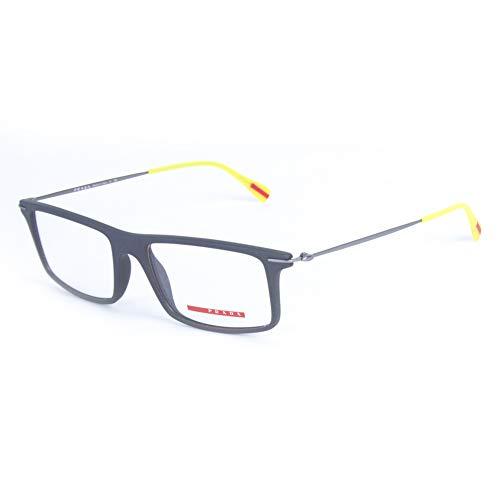 Prada Sport Rectangular Eyeglass Frames VPS03-E 53mm Grey (Discount Prada Eyeglasses)