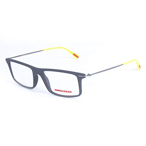 - Prada Sport Rectangular Eyeglass Frames VPS03-E 53mm Grey