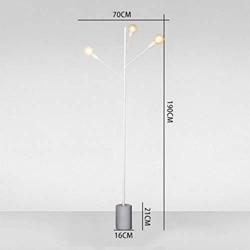 Nordic Post personalidad moderna Cemento lámpara de pie ...
