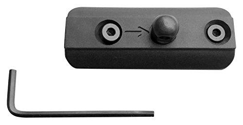 Ade Advanced Optics kmba-blk-1 Bipod Key Mod Adapter, Black (Mod Pod)