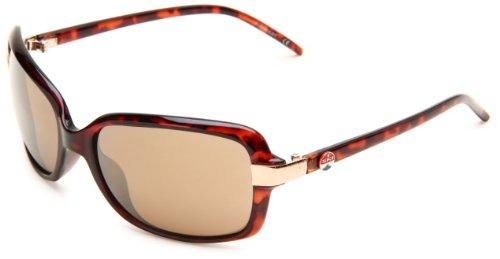 I SKI Humboldt Rectangular Sunglasses,Tortoise Frame/Brown & Gold Flash Mirror Lens,One - I Sunglasses Ski
