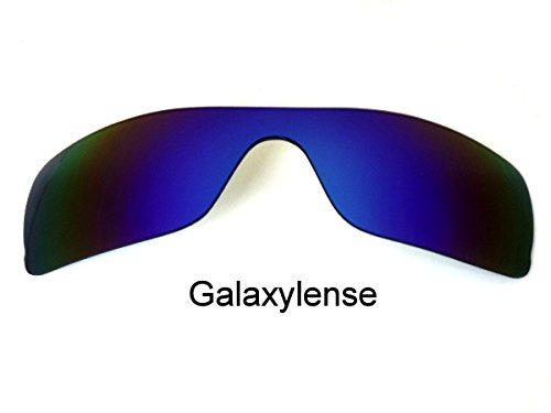 Galaxy Replacement Lenses for Oakley Batwolf Blue Color Polorized,FREE - Polorized Lenses