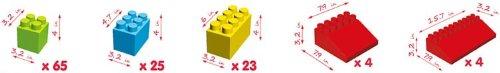 Platports Massbricks - 121 Pieces
