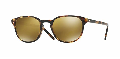 Oliver Peoples - Fairmont Sun - 5219 49 - Sunglasses (VINTAGE DTB, Gold - Vintage Oliver Peoples Sunglasses