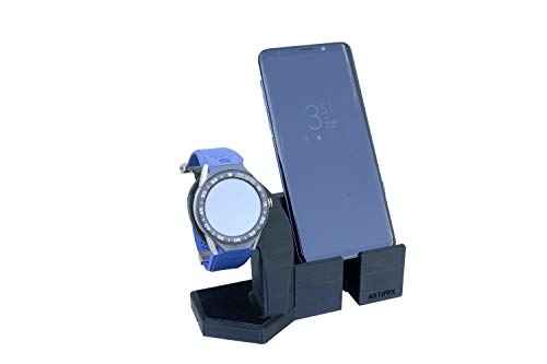 Artifex Design Stand Configured for 2nd Generation TAG Heuer Connected Modular 45 Smartwatch, fits 45mm watch only (Mod45 Combo) ()
