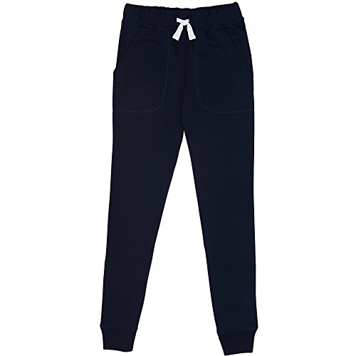 French Toast Little Boys' Fleece Jogger, Navy, 6 - School Kids Sweatpants