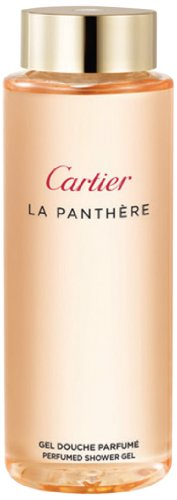 Price comparison product image Cartier La Panthere Perfumed Shower Gel for Women, 1 Ounce