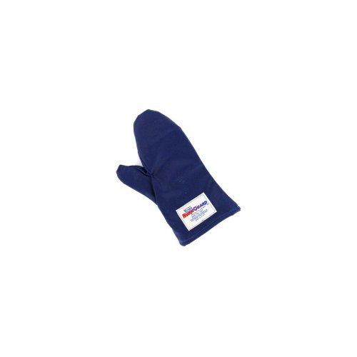Tucker Safety 56152 Products 55152 Tucker QuicKlean Protective Apparel, Conventional Style Oven Mitt, Poly-Cotton Each, Medium, 15'', Blue by Tucker Safety