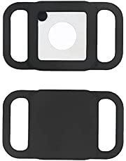 Pet Silicone Protective tracker Case - Adjustable Anti-Lost Locator Protective Case for Tile Mate GPS Tracking Dog Cat Accessories for Pet Collar Children Elderly Bags