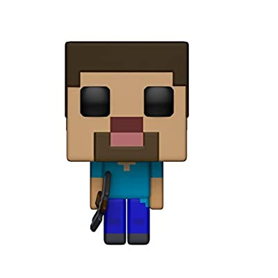 Funko POP! Games: Minecraft - Steve Collectible Figure: Funko Pop! Games:: Toys & Games