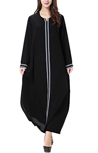 WSPLYSPJY Women's Long Sleeve Muslim Islamic Abayas for sale  Delivered anywhere in USA