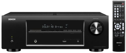 Denon AVR-1513 5.1 Channel 3D Pass Through Home Theater AV Receiver (Discontinued by Manufacturer) (Denon 110)