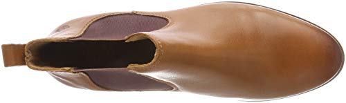 Boots 10 Eden Cognac Brown of Women's Chelsea Manon Apple 1n4xwPqFXW