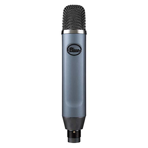 (Blue Ember XLR Studio Condenser Mic for recording, streaming voice and instruments)